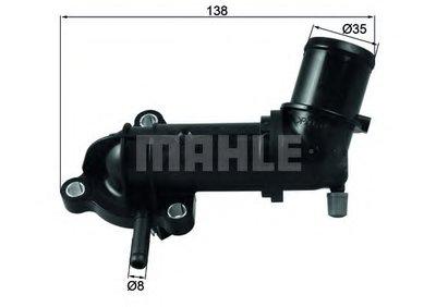 TI24588 MAHLE ORIGINAL Термостат, охлаждающая жидкость