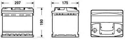 Стартерная аккумуляторная батарея; Стартерная аккумуляторная батарея CLASSIC * EXIDE купить