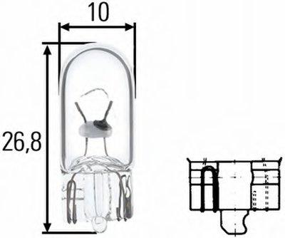 Лампа накаливания, фонарь указателя поворота; Лампа накаливания, фонарь освещения номерного знака; Лампа накаливания, задний гарабитный огонь; Лампа накаливания, oсвещение салона; Лампа накаливания, фонарь освещения багажника; Лампа накаливания, подкапотная лампа; Лампа накаливания, стояночные огни / габаритные фонари; Лампа накаливания, габаритный HELLA купить