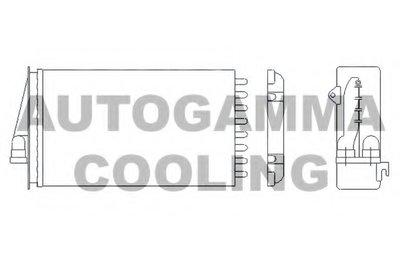 Теплообменник, отопление салона AUTOGAMMA купить