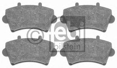16495 FEBI BILSTEIN Комплект тормозных колодок, дисковый тормоз
