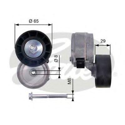 Натяжной ролик, поликлиновой  ремень DriveAlign® GATES купить