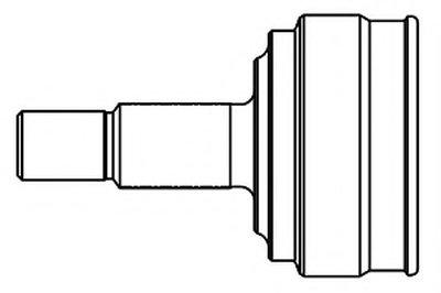 818067 GSP Шарнирный комплект, приводной вал