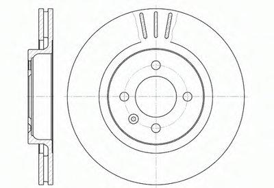 629410 REMSA Тормозной диск