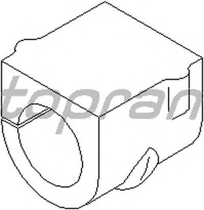 206457 TOPRAN Опора, стабилизатор