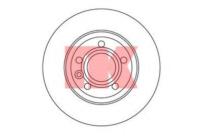 204767 NK Тормозной диск