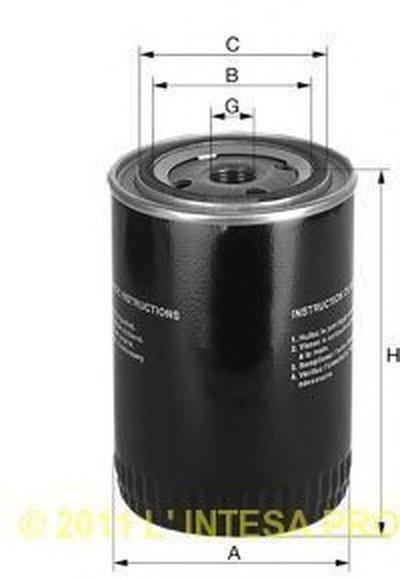XO145 UNIFLUX FILTERS Масляный фильтр