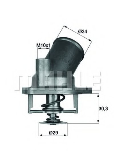 TI292 MAHLE ORIGINAL Термостат, охлаждающая жидкость
