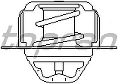 720750 TOPRAN Термостат, охлаждающая жидкость