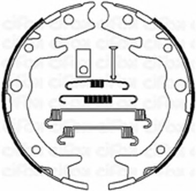 Комплект тормозных колодок, стояночная тормозная система CIFAM купить