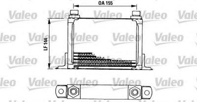 масляный радиатор, двигательное масло VALEO купить