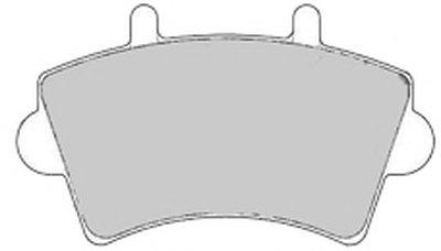 6559 MAPCO Комплект тормозных колодок, дисковый тормоз