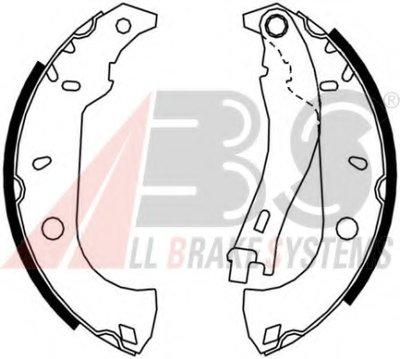 Комплект тормозных колодок A.B.S. купить