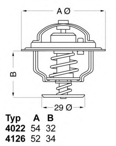 1880218 EPS Термостат, охлаждающая жидкость