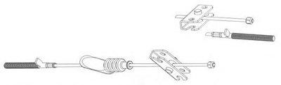 Трос, стояночная тормозная система CEF купить