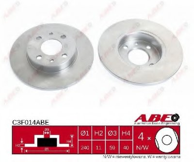 Тормозной диск ABE купить