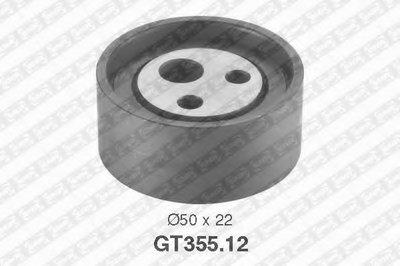 GT35512 SNR Натяжной ролик, ремень ГРМ