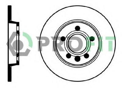 50101012 PROFIT Тормозной диск