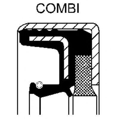 Уплотняющее кольцо, ступенчатая коробка передач; Уплотняющее кольцо, дифференциал CORTECO купить