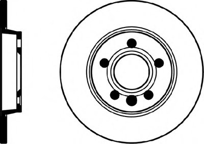 8DD355105611 HELLA PAGID Тормозной диск