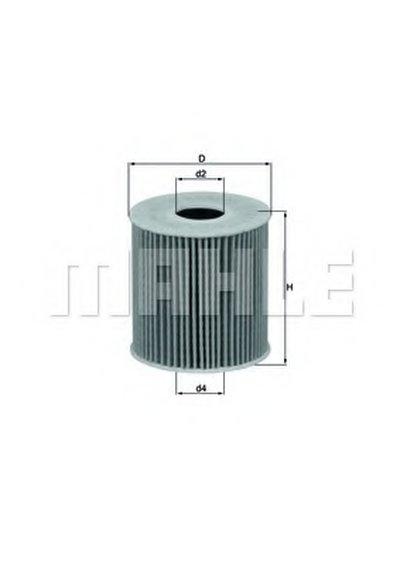 OX3392D KNECHT Масляный фильтр