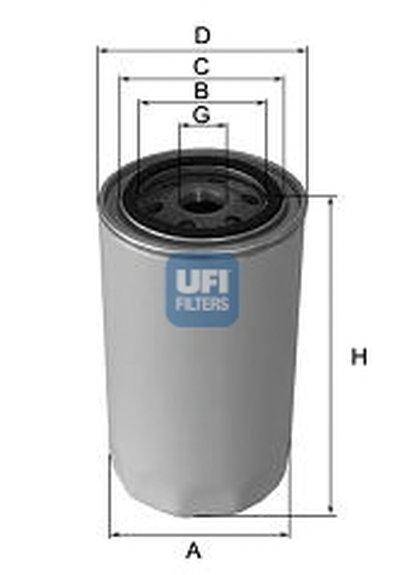 2345700 UFI Масляный фильтр