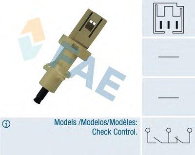 Выключатель фонаря сигнала торможения; Выключатель, привод сцепления (Tempomat) FAE купить