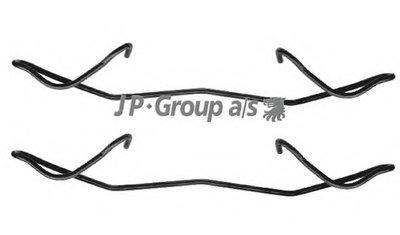 Комплектующие, колодки дискового тормоза QH JP GROUP купить