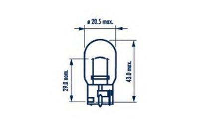 Лампа накаливания, фонарь указателя поворота; Лампа накаливания, фонарь указателя поворота NARVA купить