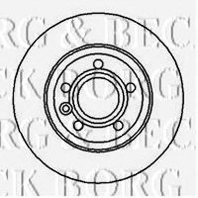 BBD4214 BORG & BECK Тормозной диск