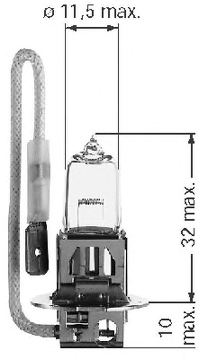 Лампа накаливания, фара дальнего света; Лампа накаливания, противотуманная фара POWERLIGHT BERU купить