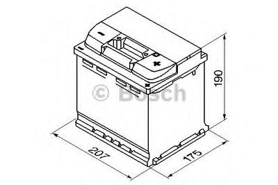 Стартерная аккумуляторная батарея; Стартерная аккумуляторная батарея S4 BOSCH купить
