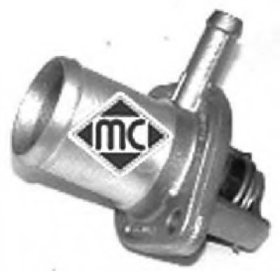 03156 METALCAUCHO Термостат, охлаждающая жидкость