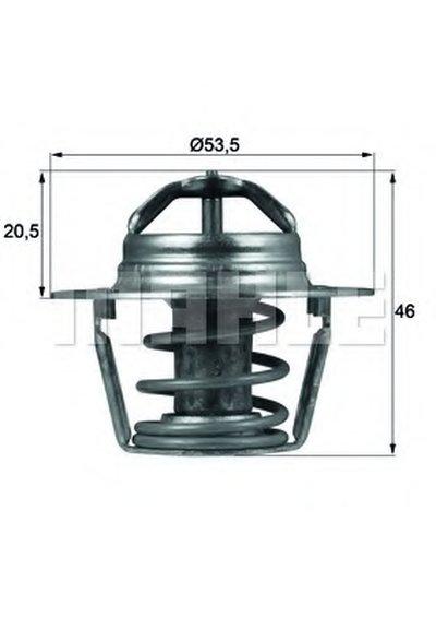 TX9189D MAHLE ORIGINAL Термостат, охлаждающая жидкость