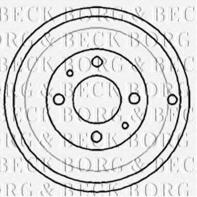 Тормозной барабан BORG & BECK купить