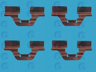 Комплектующие, колодки дискового тормоза ERT купить