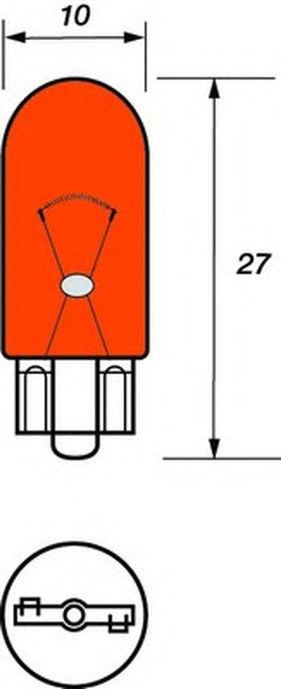 Лампа накаливания, фонарь указателя поворота; Лампа накаливания, стояночный / габаритный огонь; Лампа, мигающие / габаритные огни MOTAQUIP купить