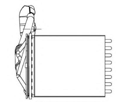 Теплообменник, отопление салона EASY FIT NRF купить