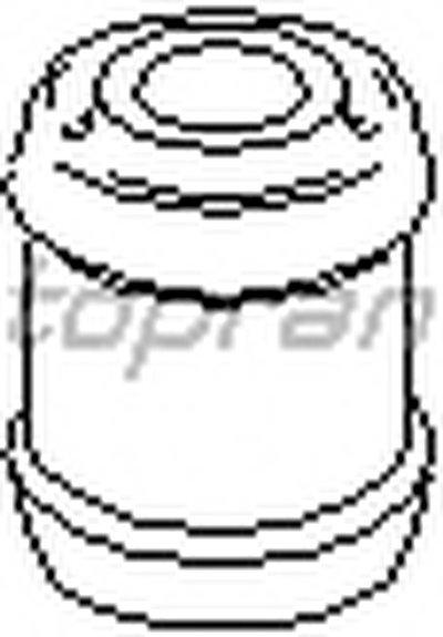 108771 TOPRAN Подвеска, рулевое управление