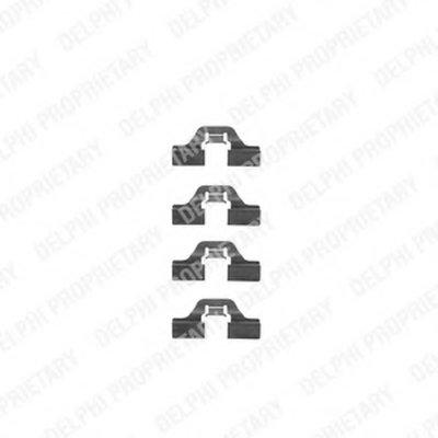 Комплектующие, колодки дискового тормоза DELPHI купить