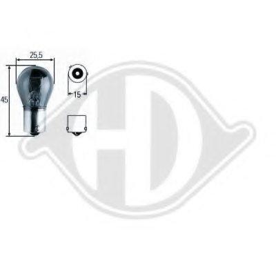 Лампа накаливания, фонарь указателя поворота; Лампа накаливания, фонарь указателя поворота HD Tuning DIEDERICHS купить