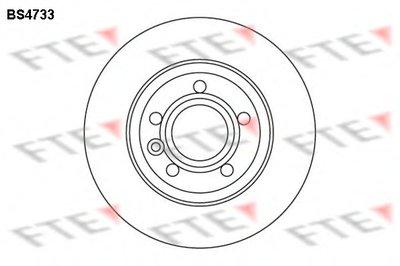 BS4733 FTE Тормозной диск