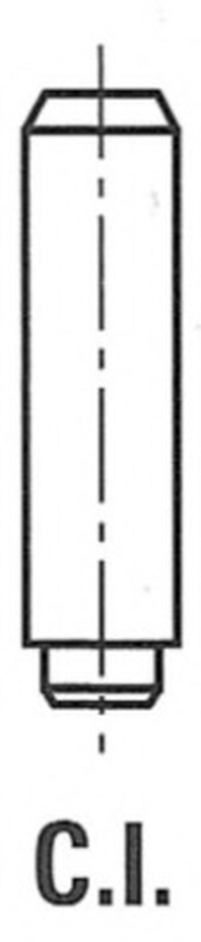 VG11302SM BGA Направляющая втулка клапана