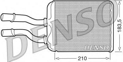 Теплообменник, отопление салона DENSO купить