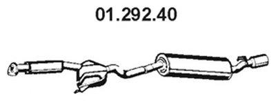 Глушитель выхлопных газов конечный EBERSPÄCHER купить